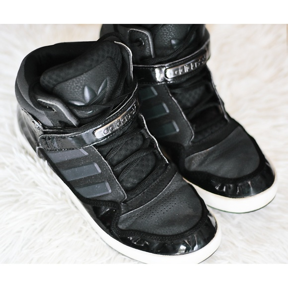 91f5ed661e798d adidas Other - Adidas Originals Ar 2.0 Black High Tops Size 6.5